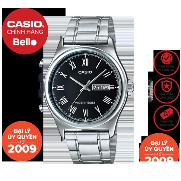 Đồng hồ Nam dây thép Casio MTP-V006 chính hãng bảo hành 1 năm Pin trọn đời