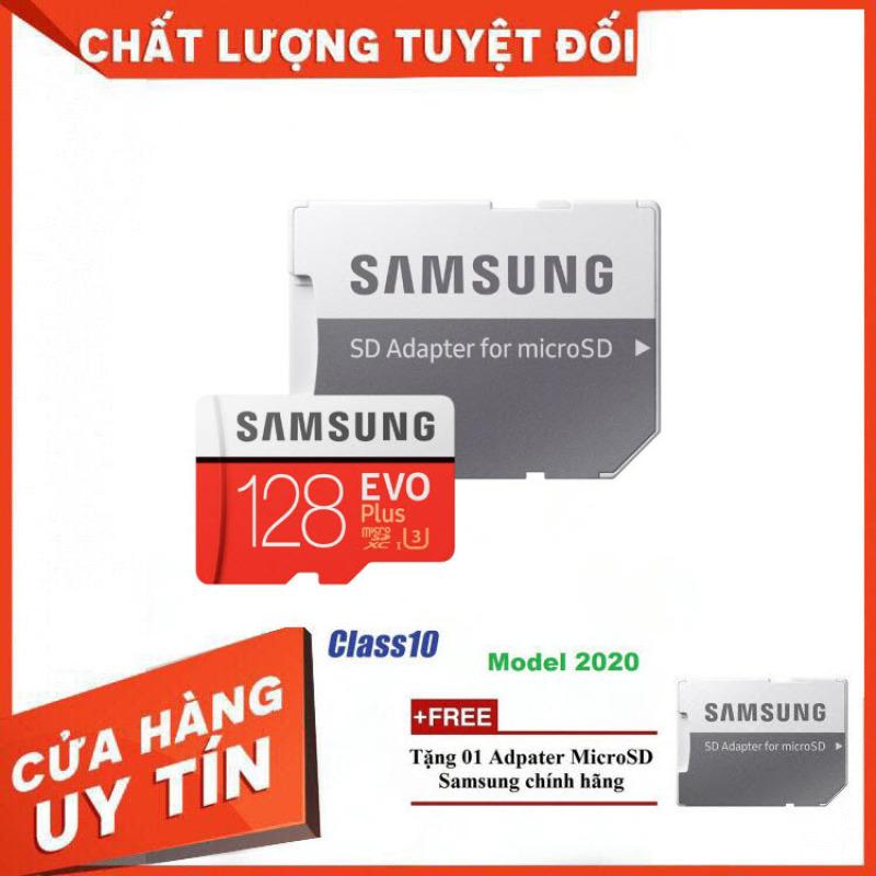 [Model Mới] Thẻ nhớ MicroSD Samsung EVO Plus 4K 128GB 100MB/s 128GB Box Hoa - Hàng Chính Hãng