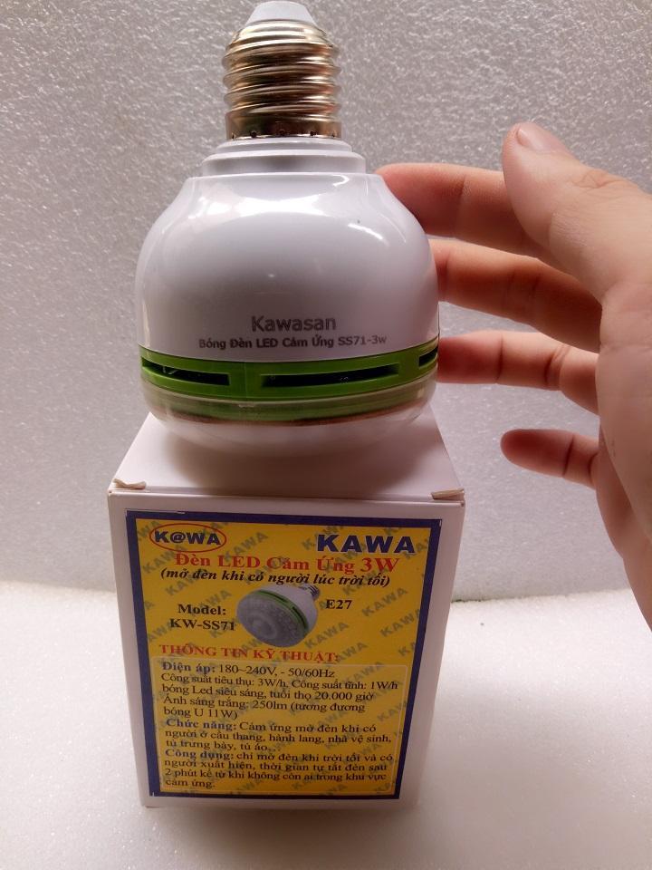 Đèn led cảm ứng hồng ngoại KW-SS71, cảm ứng chuyển động,đèn tự sáng khi có người đi qua