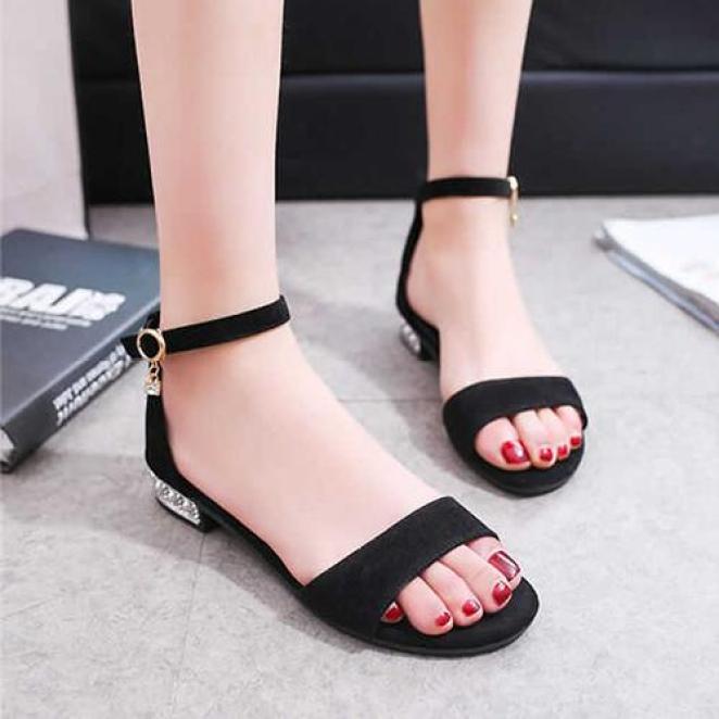 Giày Nữ Đế Bằng Vải Thời Trang Season G110 giá rẻ