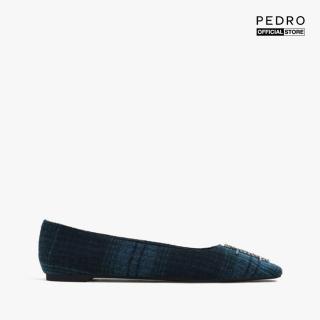 PEDRO - Giày đế bệt mũi vuông Gem Embellished PW1-66480027-24 thumbnail