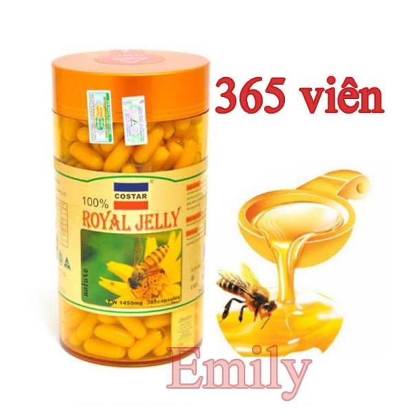 Sữa Ong Chúa Costar 1450mg (365 viên) Sáng da