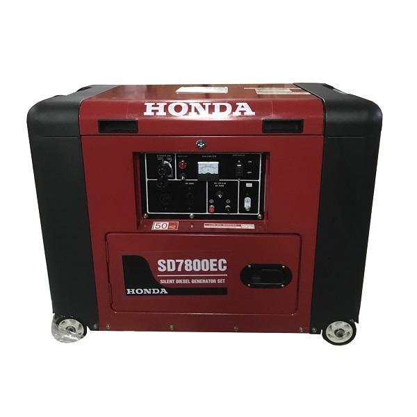 MÁY PHÁT ĐIỆN CHẠY DẦU SD 7800EC 5,5KW - MÁY PHÁT ĐIỆN DẦU HONDA