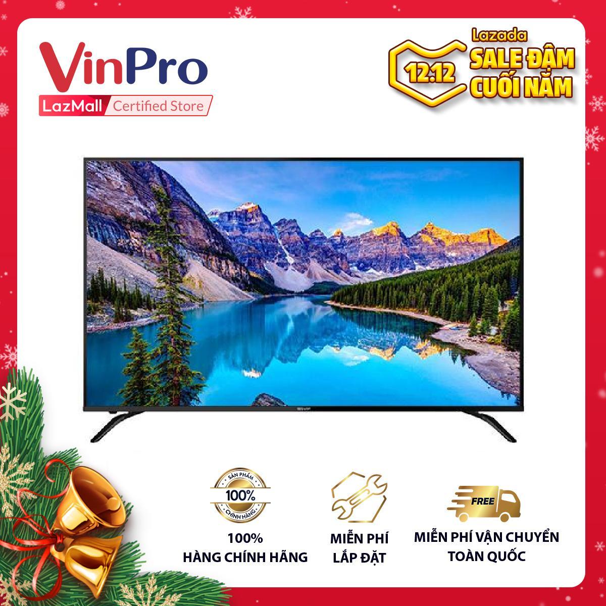 Bảng giá LED Tivi Sharp 4K 70 inch 4T-C70AL1X - Hàng chính hãng - Nâng cao chất lượng hình ảnh với công nghệ X4 Master Engine Pro - Công nghệ Dolby Audio cho âm thanh bùng nổ - Bảo hành chính hãng