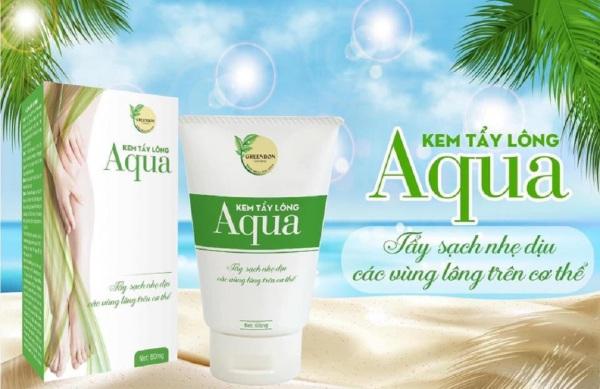 Kem tẩy lông Aqua GREENBON