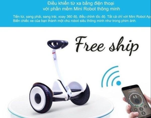 Giá bán Xe cân bằng thế hệ mới - LOẠI BÁNH LỚN 10 INCH - Xe cân bằng thế hệ mới - xe cân bằng 2 bánh - xe cân bằng điện - xe cân bằng cho bé