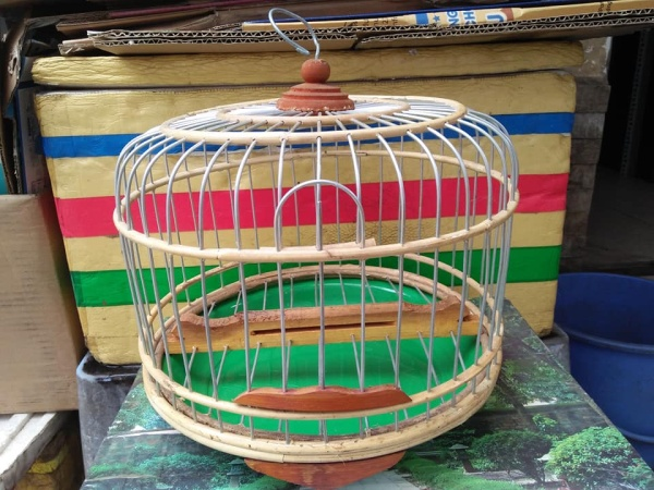 Lồng chim cu gáy 35 cm