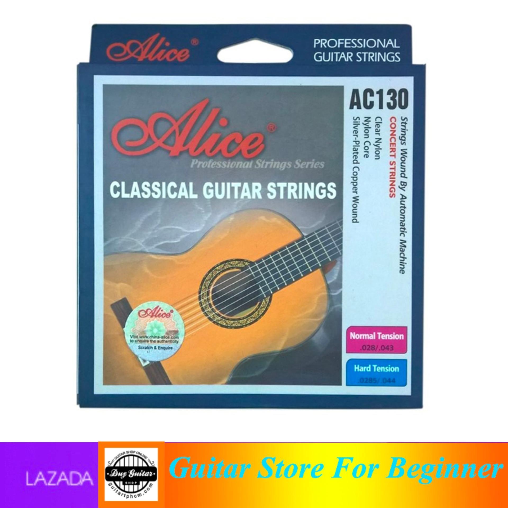 Dây Classic Guitar Alice AC130 - Shop Duy Guitar Chuyên đàn Guitar Dành Cho Người Mới Tập Giá Tốt Không Thể Bỏ Qua