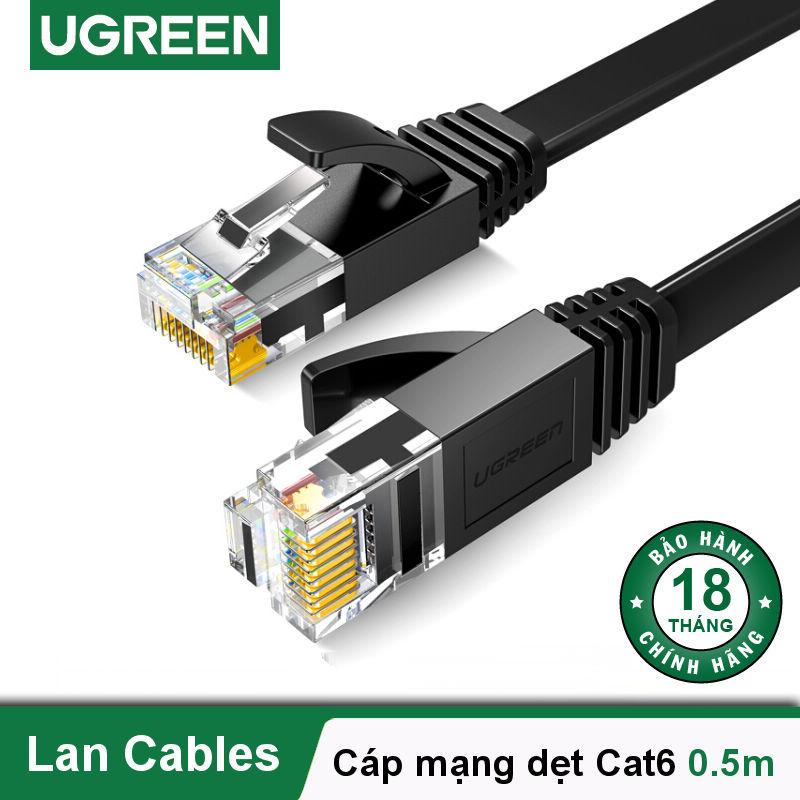 Bảng giá Cáp mạng Cat6 aluminum dạng dẹt UGREEN NW102 - Hãng phân phối chính thức Phong Vũ