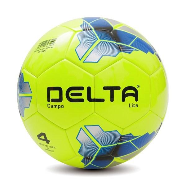 Bóng đá ngoài trời Delta Campo Lite 3528/3542-4D size 4 chơi trên sân cỏ tự nhiên hoặc sân cỏ nhân tạo
