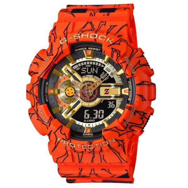 Đồng hồ Casio G-Shock Dragon Ball GA-110 - Đồng hồ thể thao G Shock Nam Phiên Bản Giới Hạn - Đồng Hồ Casio - Bảy Viên Ngọc Rồng bán chạy