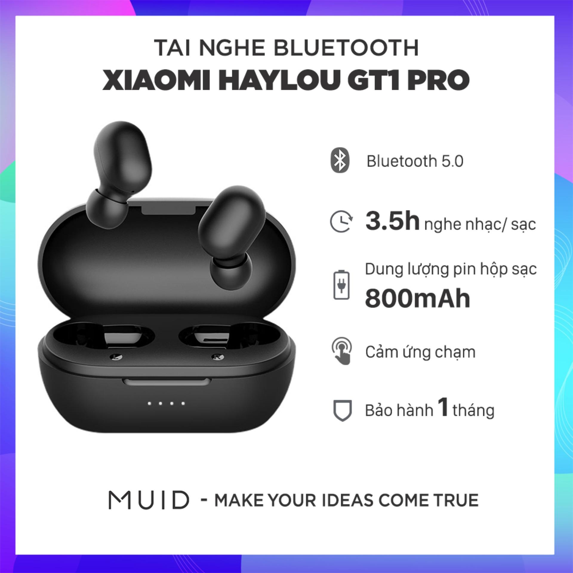 Tai Nghe Bluetooth True Wireless Xiaomi Haylou GT1 Pro Bluetooth 5.0 ( Phiên Bản Nâng Cấp Haylou GT1)