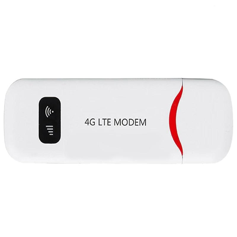 Giá 4G Portable Fdd Lte Mobile Wifi Usb Modem Router 100M Band 1/3 Dongle Sim Card Slot Network Card