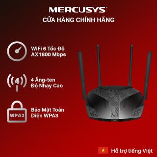 Bộ Phát Wifi MERCUSYS MR70X Wifi 6 Băng Tần Kép AX1800 - Hãng Phân Phối Chính Thức thumbnail