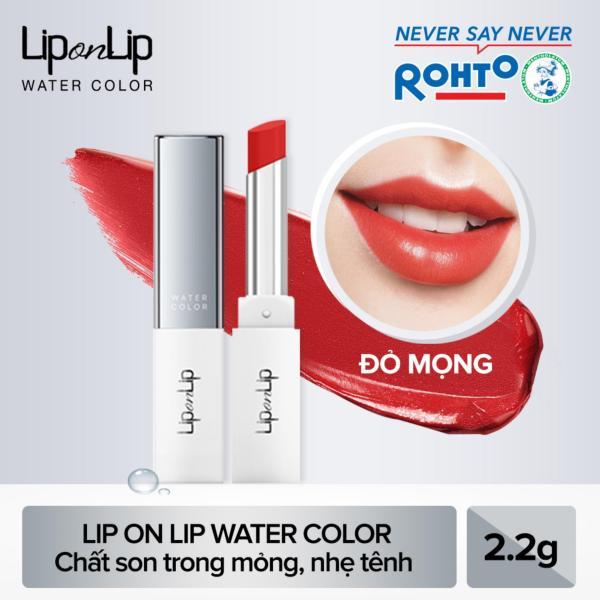 Son trang điểm dưỡng tối ưu Lip On Lip Water Color 2,2g giá rẻ