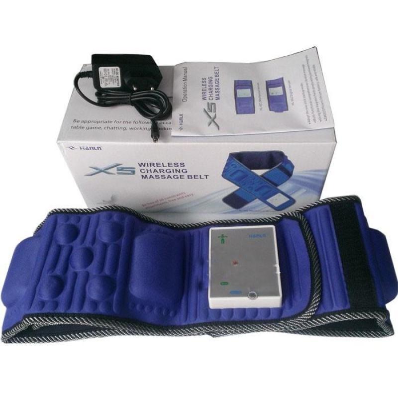 Máy đeo giảm mỡ bụng Đai massage, máy tập bụng giảm cân 360 độ X5 BẢO HÀNH 1 ĐỔI 1