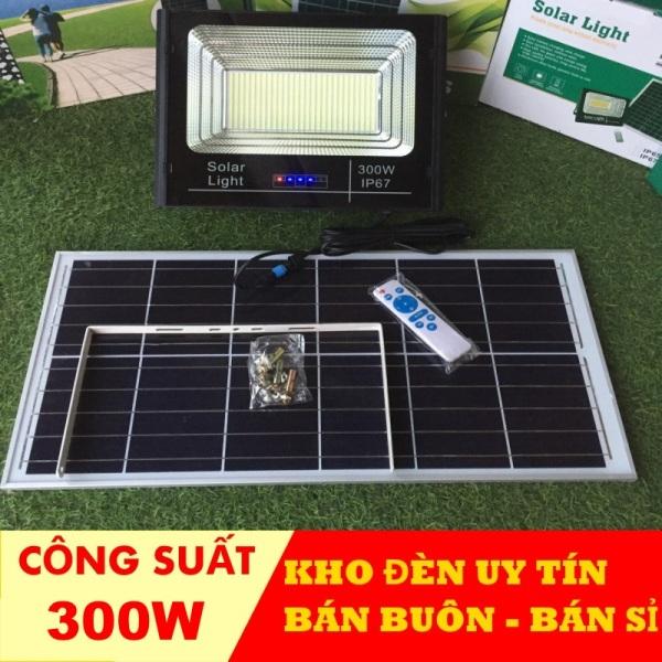 Bảng giá [ Mẫu Mới ] đèn năng lượng mặt trời 300w-200w-100w