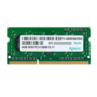 RAM Laptop Apacer DDR3 SODIMM 12800-11 512x8 4GB RP 1600 - Hàng Chính hãng thumbnail