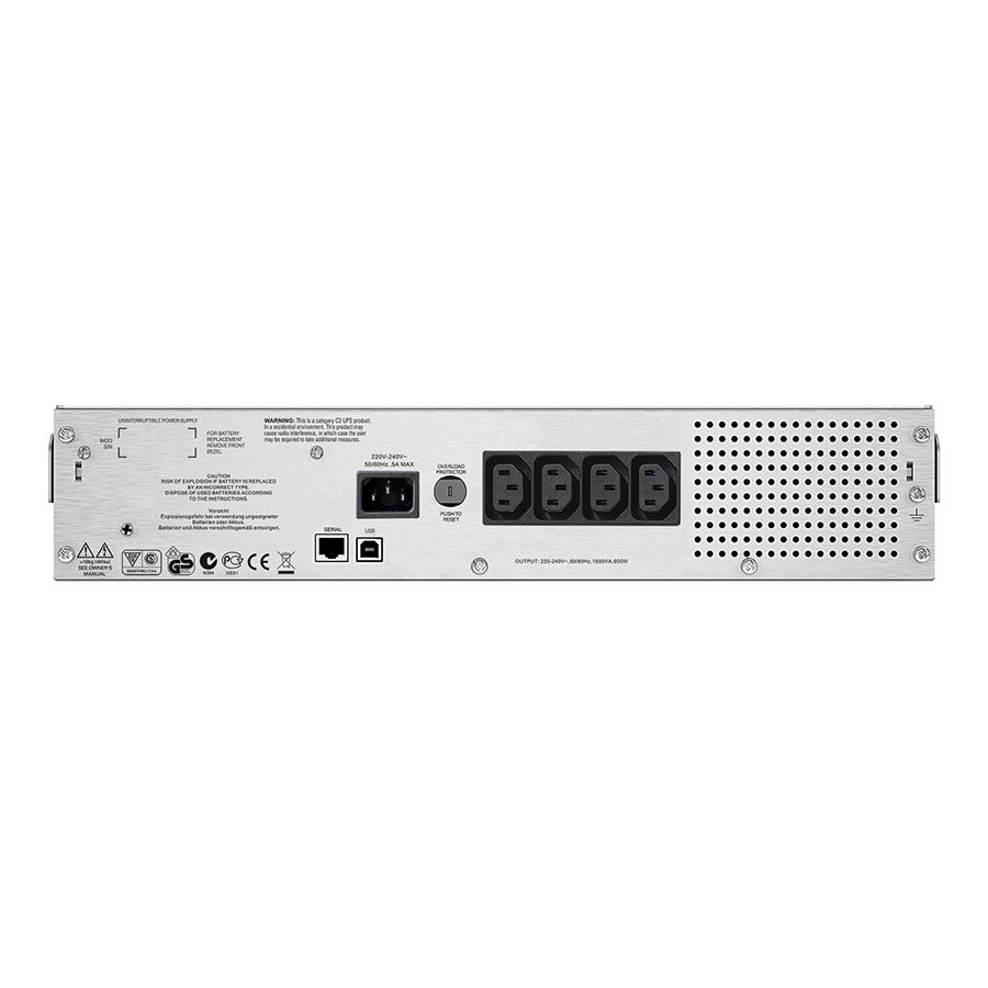 Bảng giá Bộ lưu điện: APC Smart-UPS C 1000VA LCD RM 2U 230V-SMC1000I-2U - Hàng Chính Hãng Phong Vũ