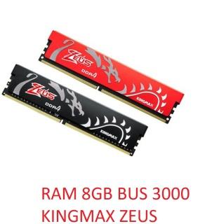 RAM DDR4 8GB 3000 KINGMAX HEATSINK ZEUS CHÍNH HÃNG BH 3 NĂM thumbnail