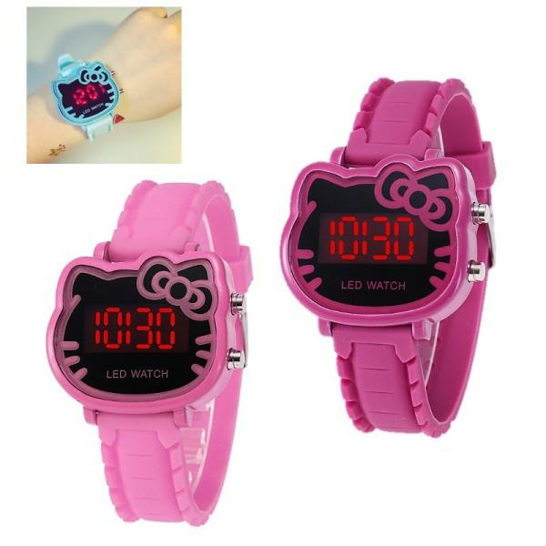 Giá bán đồng hồ điện tử led cho bé gái