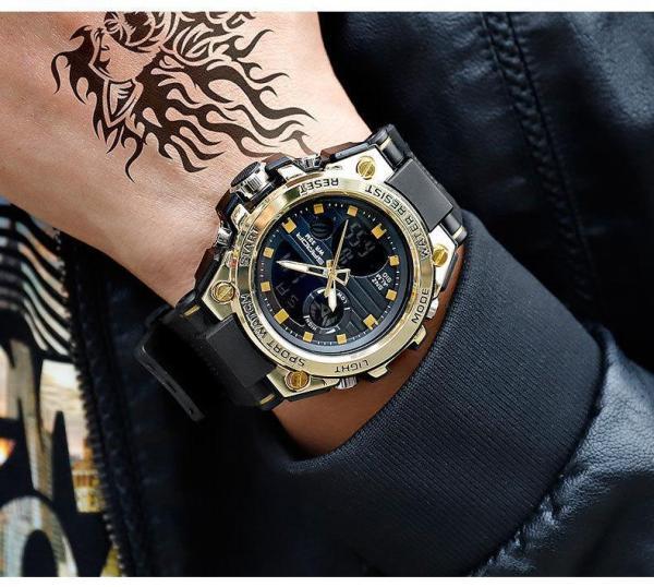 Nơi bán Đồng Hồ Thể Thao Nam Sport Watch Sanda 739 Size 48mm