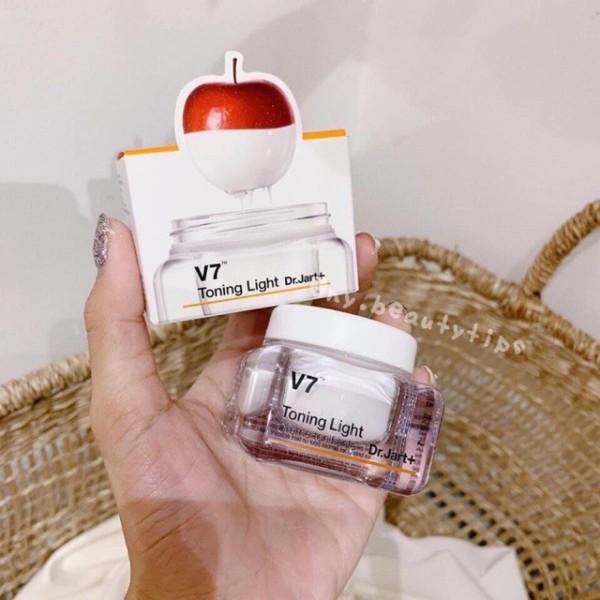 Kem dưỡng trắng da V7 Toning Light Dr Jart mini của Hàn Quốc Frorence86 Store