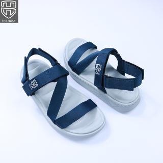 Giày Sandals Unisex TheHusk Quai Xanh Navy Đế Trắng ngâm - TH1 thumbnail