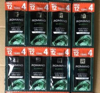 Set 50 gói dầu gội Romano thumbnail