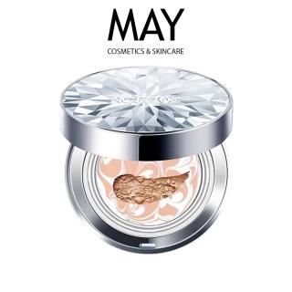 PHẤN NỀN LẠNH AGE20 S KIM CƯƠNG Lâu Trôi, Kiềm Dầu Cover Pact SPF 50+ PA+++WHITE BEIGE 12.5g - MAY Cosmetics & Skincare thumbnail