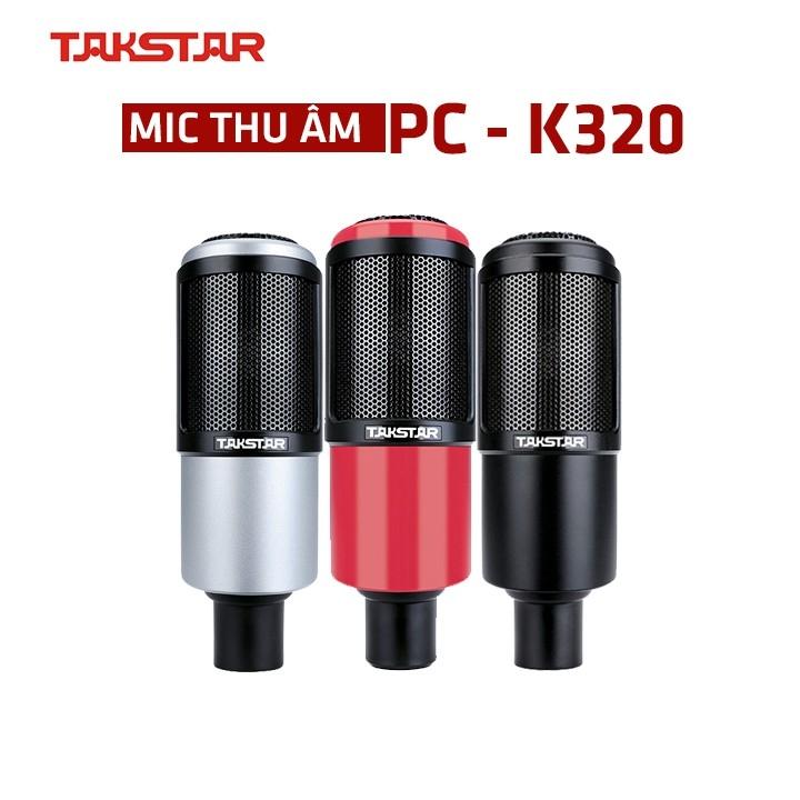 Mic thu âm Takstar PC-K320 hát karaoke thu âm livestream bảo hành 12 tháng, Mic karaoke, livestream,. micro thu âm chuyên nghiệp