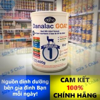 Sữa dê Danalac GOAT Premium 1 400g thumbnail