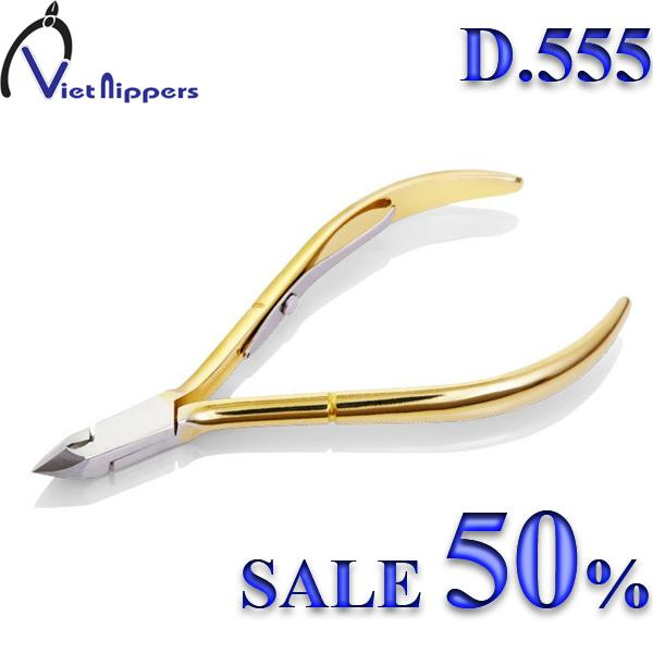 Kềm (Kiềm) Cắt Da Mạ Vàng D-555 cao cấp