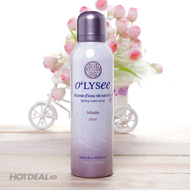 Xịt khoáng Olysee 150ml dưỡng da và bảo vệ lớp nền trang điểm cao cấp