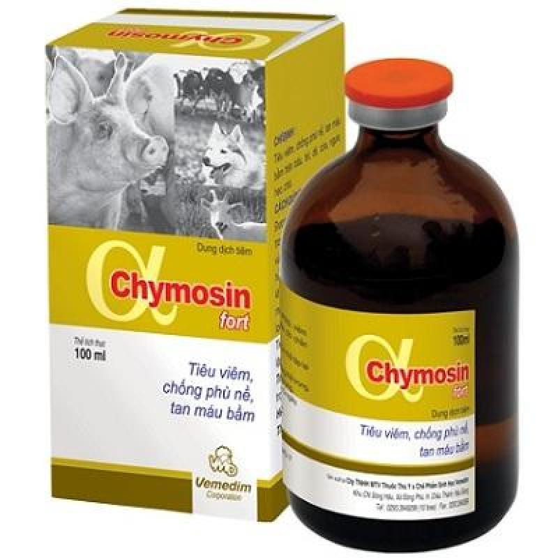Chymosin Fort  - Tiêu viêm, Chống phù nề, Tan máu bầm 100 ML