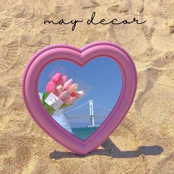 Gương hình trái tim dễ thương - may.decor -
