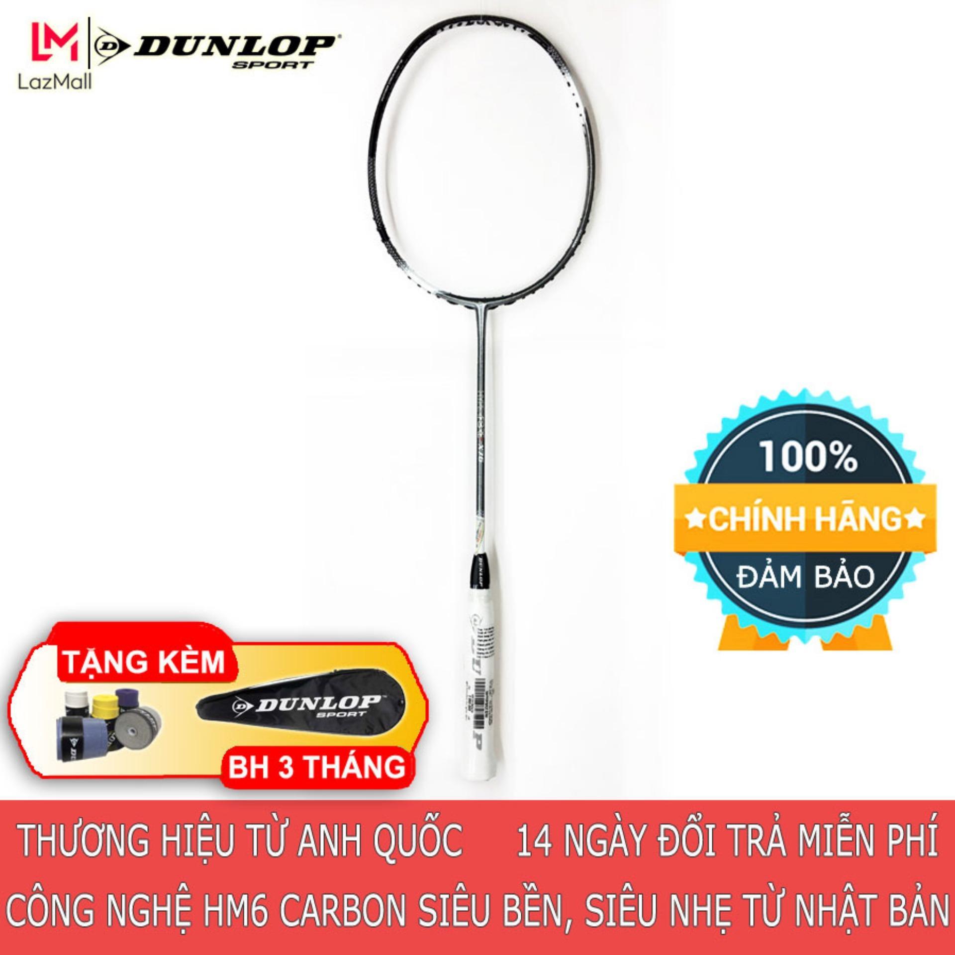 Bảng giá DUNLOP - Vợt cầu lông Dunlop HYPER FIBRE X7.6 G1 Thương hiệu từ Anh Quốc Đổi trả miễn phí (vợt, dụng cụ, cầu lông, badminton, vợt cầu lông rẻ)