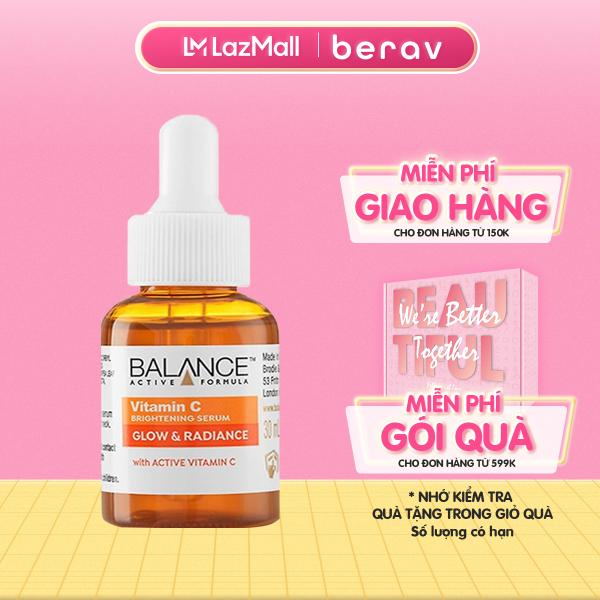 Serum Trắng Da, Mờ Thâm Balance Active Formula Vitamin C Brightening 30ml