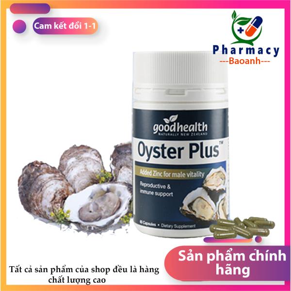 Tăng cường sinh lí: Tinh chất hàu biển  Hàu oyster plus lọ 60 viên giúp tăng cường sinh lực phái mạnh Hàng chính hãng - Đánh giá 5 sao - chất lương cao