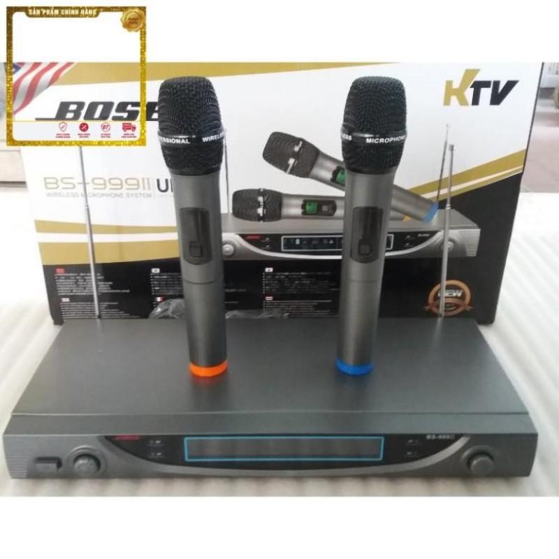 Micro Không Dây Hát Karaokeb0 Se Bs 999 Ii   Micro Karaoke