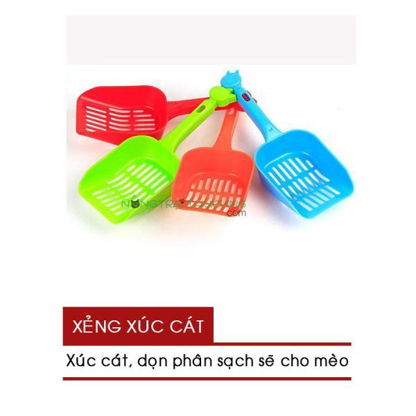 Xẻng Nhựa Hốt Phân Mèo - Xẻng Xúc Cát Mèo - [Nông Trại Thú Cưng]