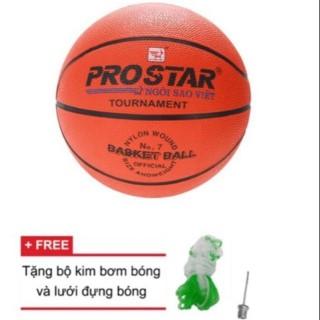 BANH BÓNG RỔ PROSTAR BÓNG RỔ GERU STAR SIZE 3 - 7 TẶNG KIM BƠM BANH VÀ TÚI LƯỚI ĐỰNG BÓNG thumbnail