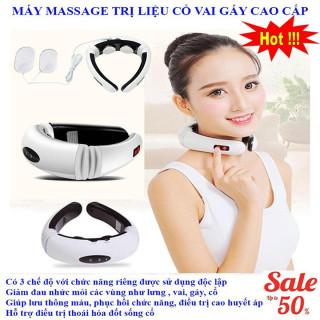 Đai Massage Cổ 3D Giảm Đau Nhức Hiệu Quả - Làm Đẹp Dụng Cụ Chăm Sóc Sắc Đẹp Máy Massage & Làm Thon Cơ Thể - Thiết Bị Y Tế - Máy Mát Xa Trị Liệu Mát Xa Cổ Vai Gáy Làm Đẹp Spa đồ dùng gia đình chăm sóc sức khỏe thumbnail