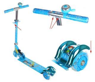 Xe scooter sắt có đèn cho bé đồ chơi trẻ em xe đồ chơi xe scooter xe trượt trẻ em - đồ chơi ngoài trời - đồ chơi - đồ chơi vận động - quà tặng cho bé yêu 7