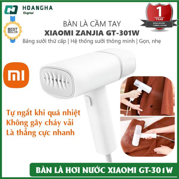 Bàn Ủi Hơi Nước Cầm Tay Xiaomi Zanjia GT-301W công suất 1200W Là thẳng nhanh chóng, tiện lợi mang đi du lịch, công tác, Bàn Là Hơi Nước Cầm Tay, Bàn Là, Bàn Ủi Đồ