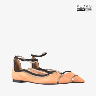 PEDRO - Giày đế bệt mũi nhọn dây đeo cổ chân PW1-65500036-17 thumbnail