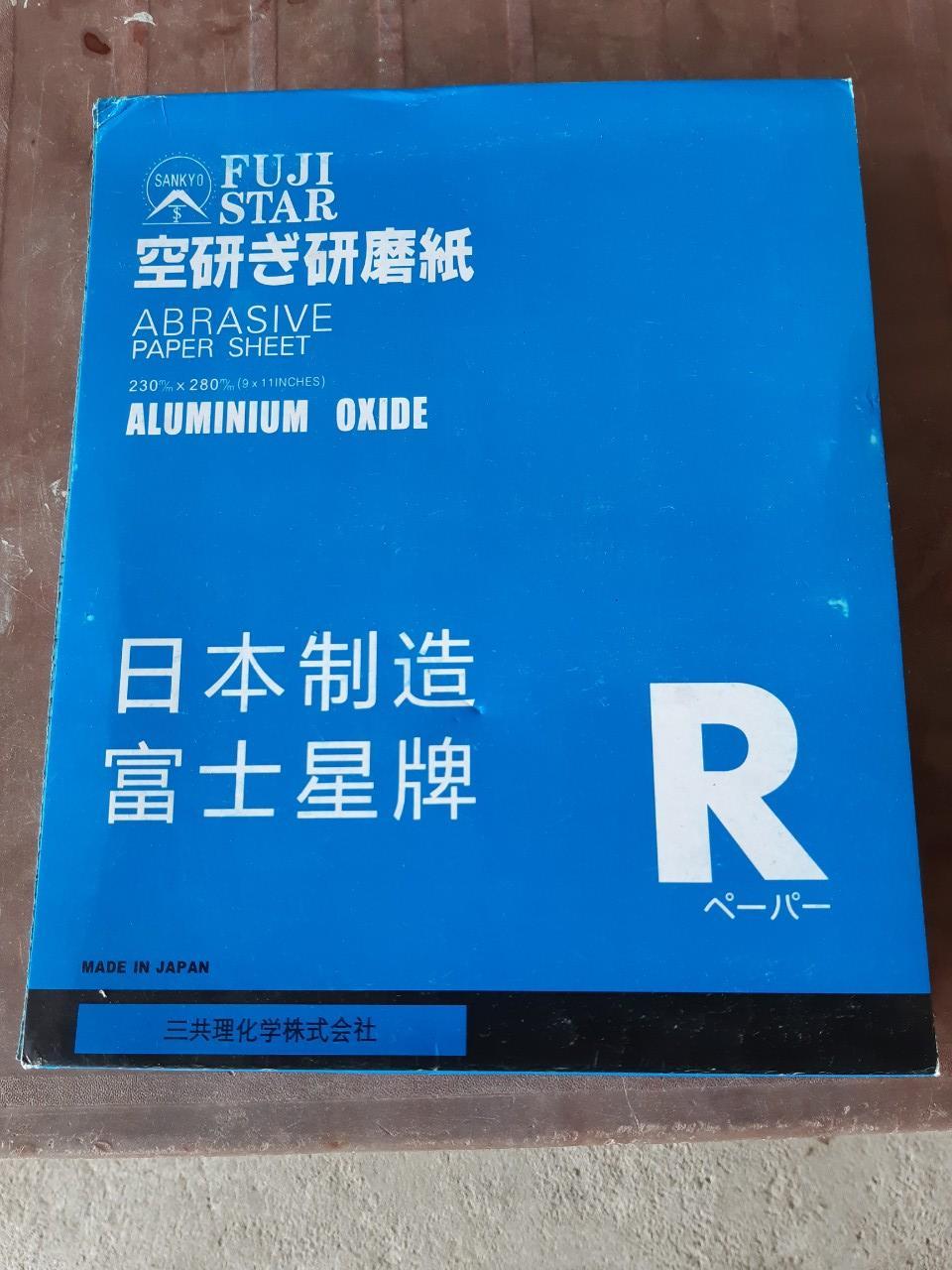 Sỉ giấy nhám Nhật 100 tờ AA150