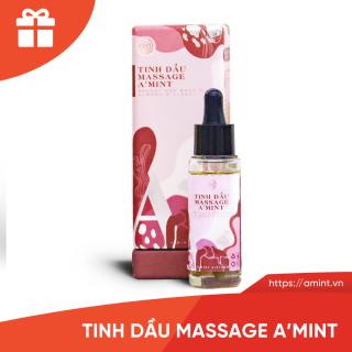 Tinh dầu Massage săn chắc, upszie vòng 1 A mint (Tặng kèm quà + Cẩm nang + Video hướng dẫn ấn huyệt) thumbnail