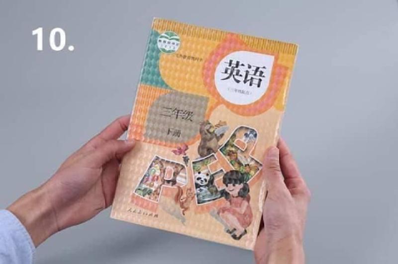 Mua Set 10 Decal bọc sách vở chống nước học sinh