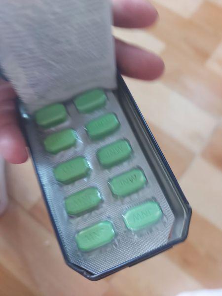 hộp 10 viên nén xanh thái lan date mới